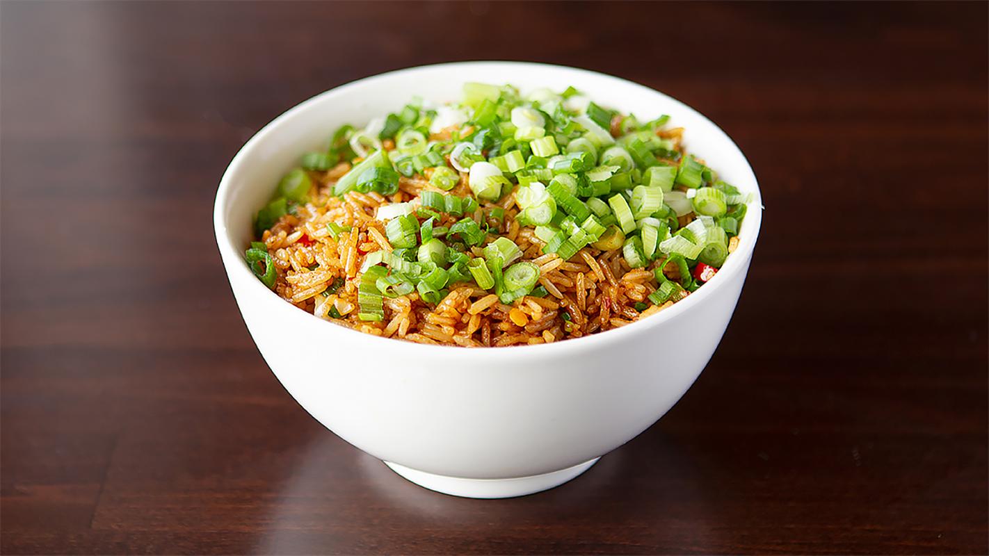 Tasty Szechwan Fried Rice at RHCP